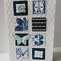 Postage due shower serie cards #2