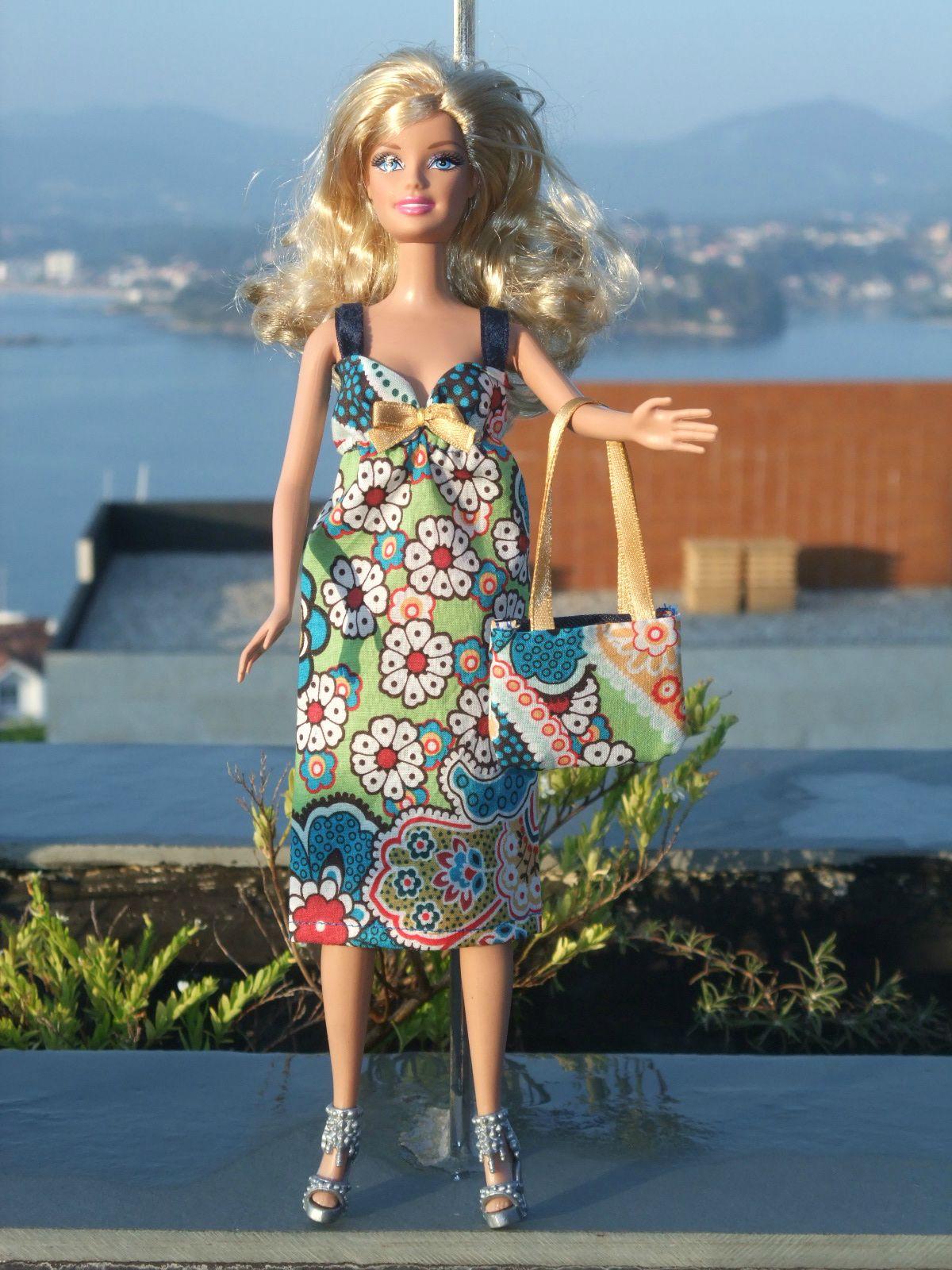 J 39 apprends faire une robe l g re pour barbie j - Robe barbie adulte ...