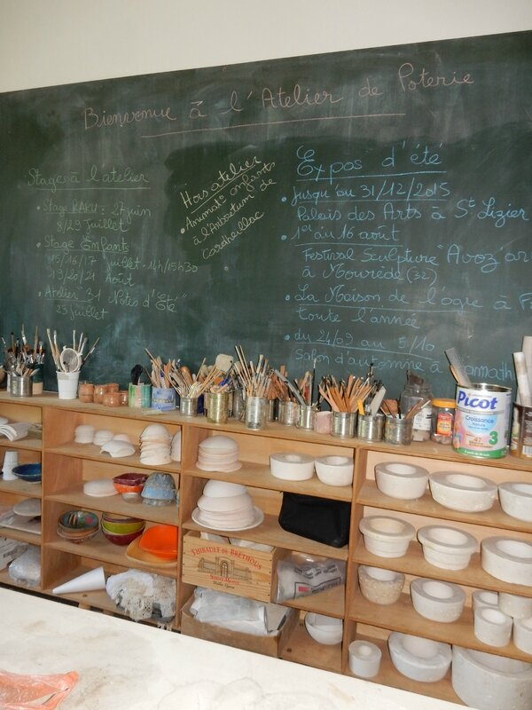 Tags Atelier Poterie