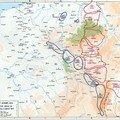 Retraite des alliés fin aout 1914 (cartes)