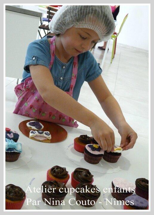 atelier cupcakes enfants nimes Avril 2015 4