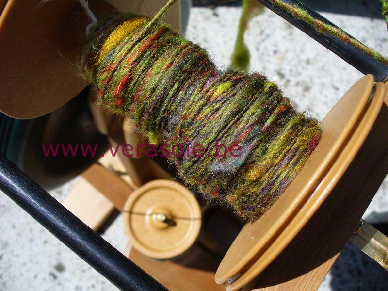 Filage de la laine