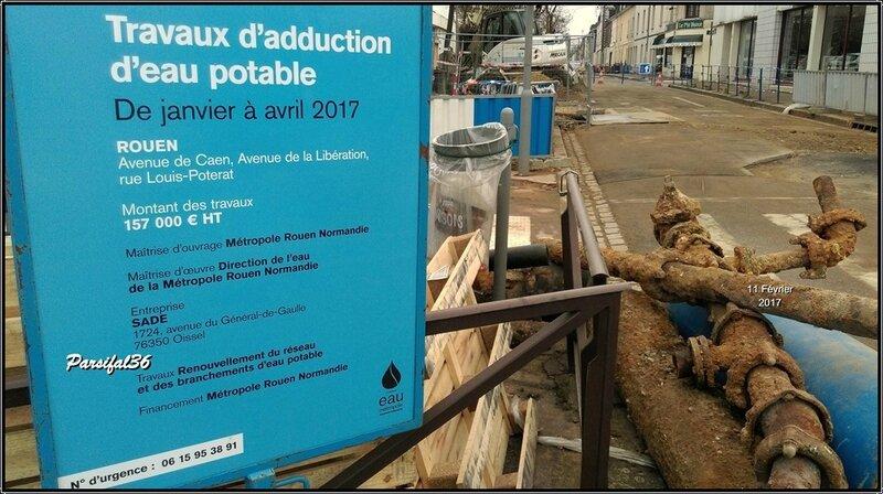 Roue - Rue Louis Poterat - 2017 - Fév