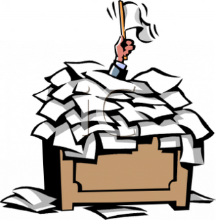 4266_overworked_businessman_calling_a_truce_under_a_pile_of_unprocessed_paperwork