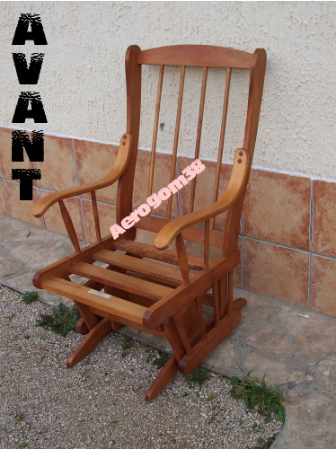rocking chair canadien a rogom 39 38. Black Bedroom Furniture Sets. Home Design Ideas