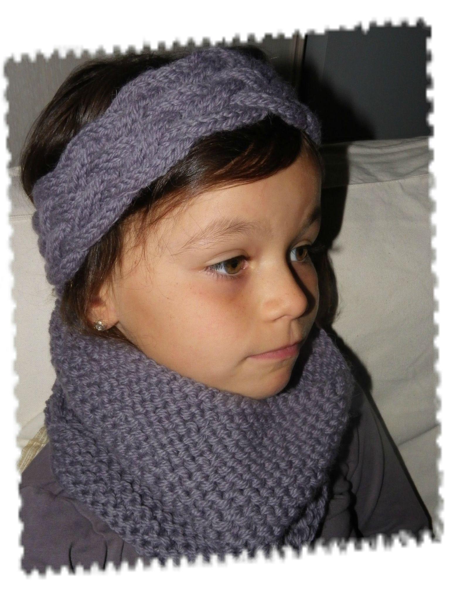 tricoter un headband tresse. Black Bedroom Furniture Sets. Home Design Ideas