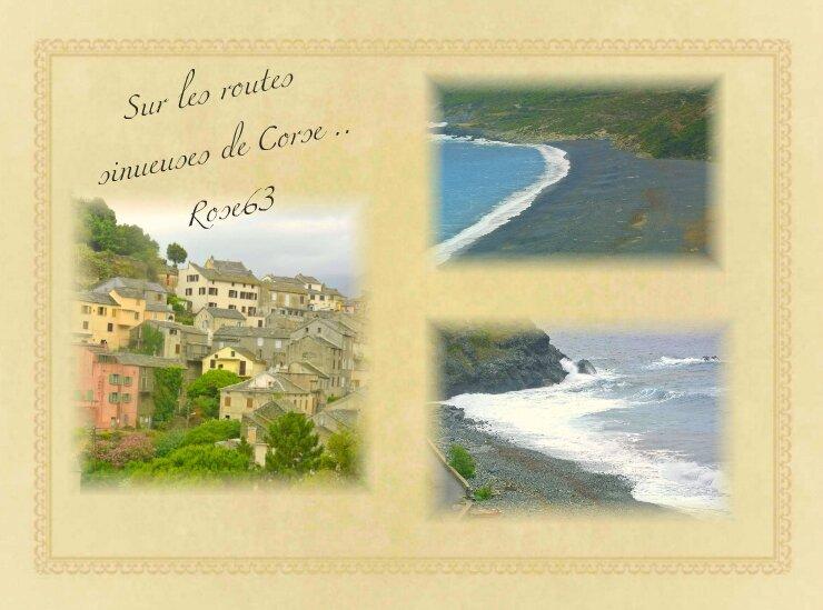 Sur routes sinueuses de Corse Juin 2016 Rose63