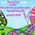 Aujourd'hui c'est la big birthday party de Prunille !