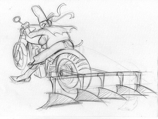 Harley Fergusson - CROQUIS 2