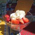 Coupe fraise-poire