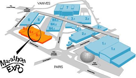 Assistant des biblioth ques mairie de paris les for Porte de versailles plan
