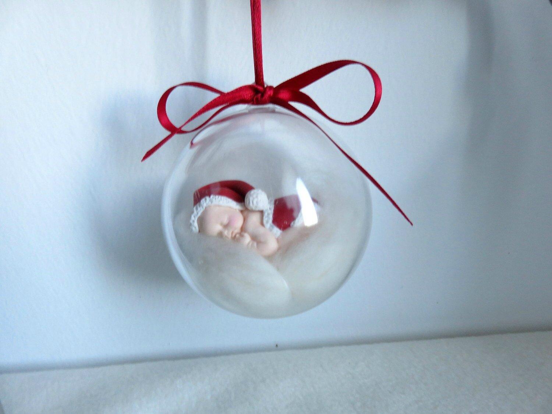 boule bébé Noël