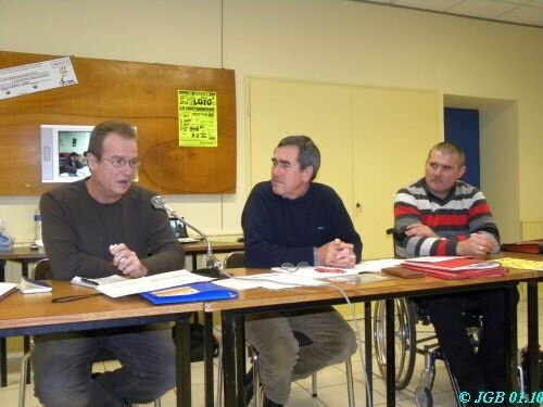 Régis, J-Yves, Gérard
