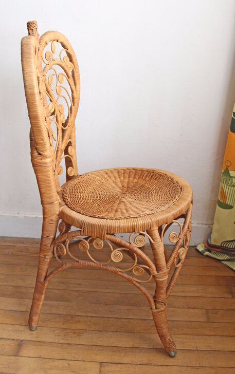 chaise-rotin-vintage-cote