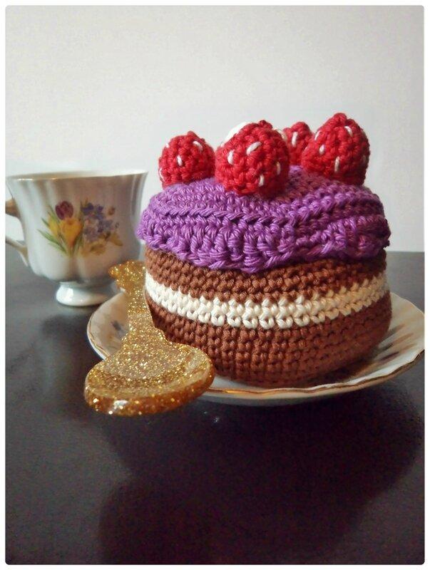 Gâteau au crochet Cam&Drey bricolent