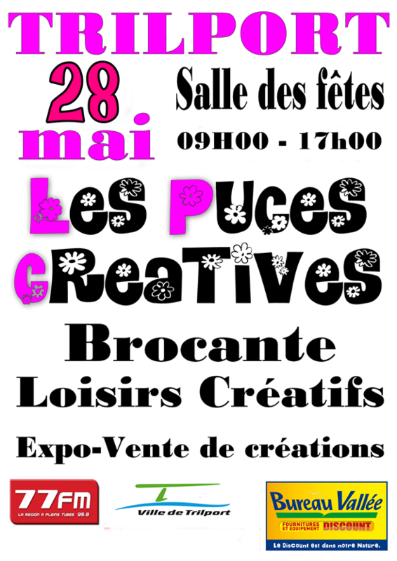 PUCES CREATIVES affiche_A4
