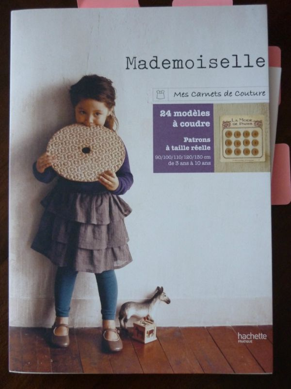 Carnet couture Mademoiselle