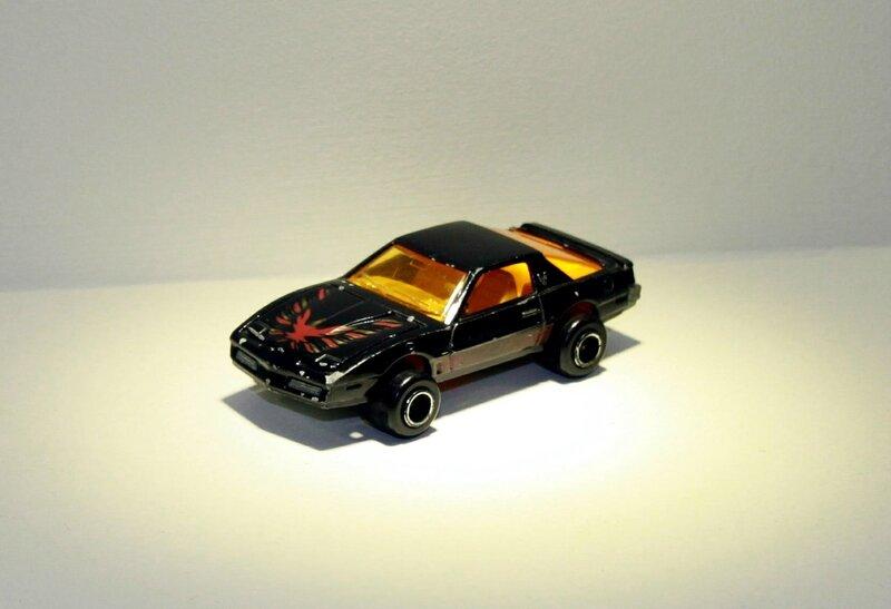 Pontiac trans am de chez Majorette (ref 248) 01