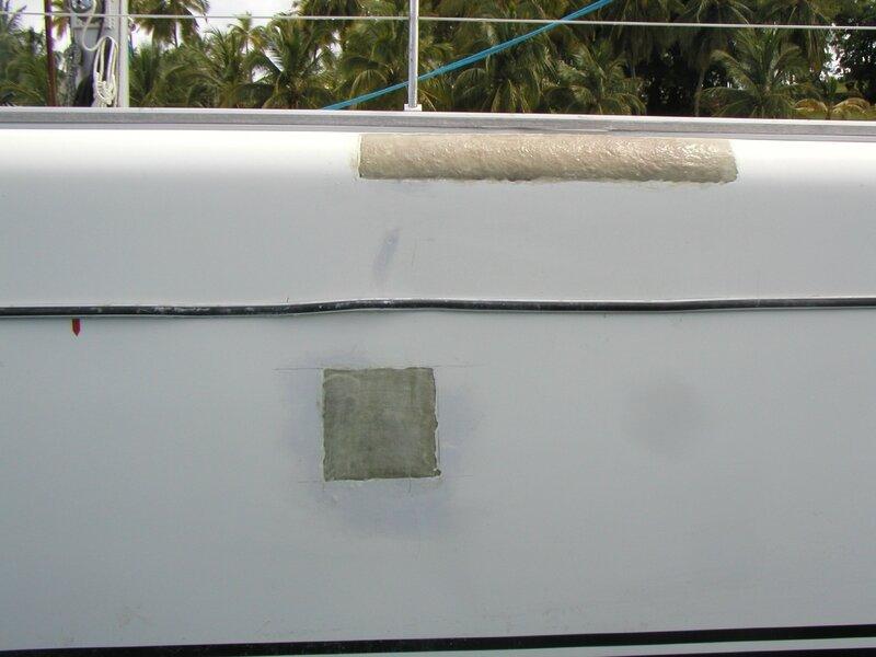suite reparation bateau 14