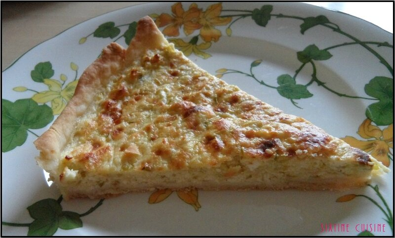 Tarte courgette brousse 3