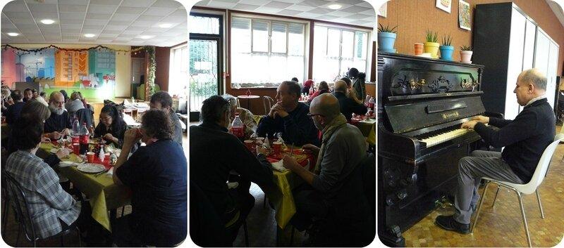 Quartier Drouot - Repas Nouvel An au café Les Bateliers