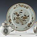 Porcelaines à décor en grisaille de la compagnie des indes @ dupont & associés
