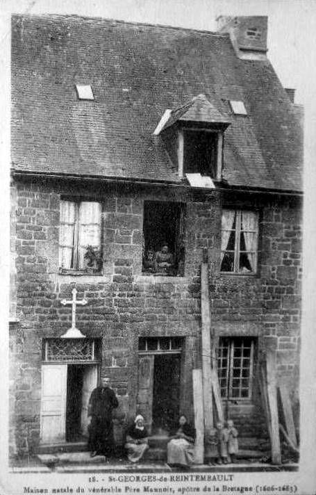 St Georges de Reintembault, maison natale du Bx Maunoir