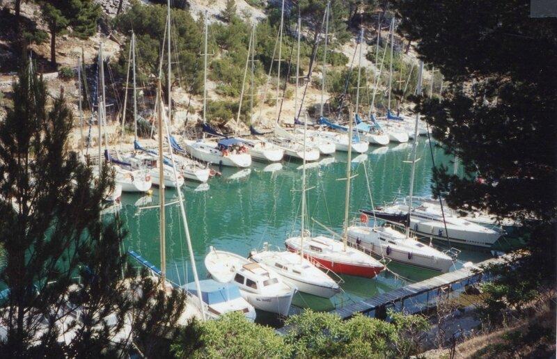 Cassis, calanque de Port Miou