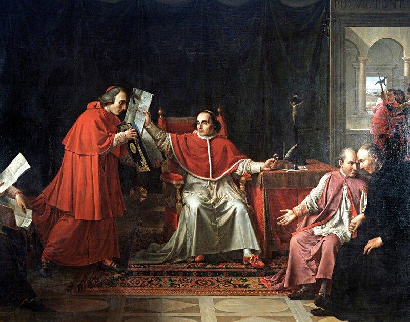 Napoléon et Pie12