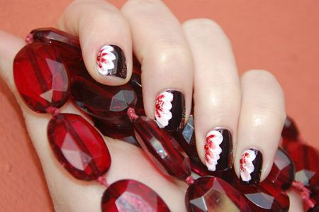 Nail art one stroke 1