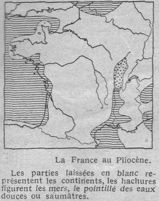 Carte-de-France-au-Pliocene