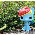 Funko pop ! rainbow dash