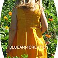amRobe jaune Blueann Creation