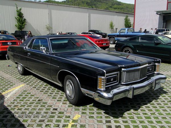 mercury marquis brougham hardtop coupe 1975 1978 a