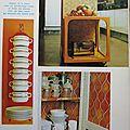 La cuisine en 1970