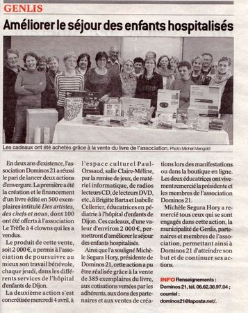Article presse 4 avril 2012