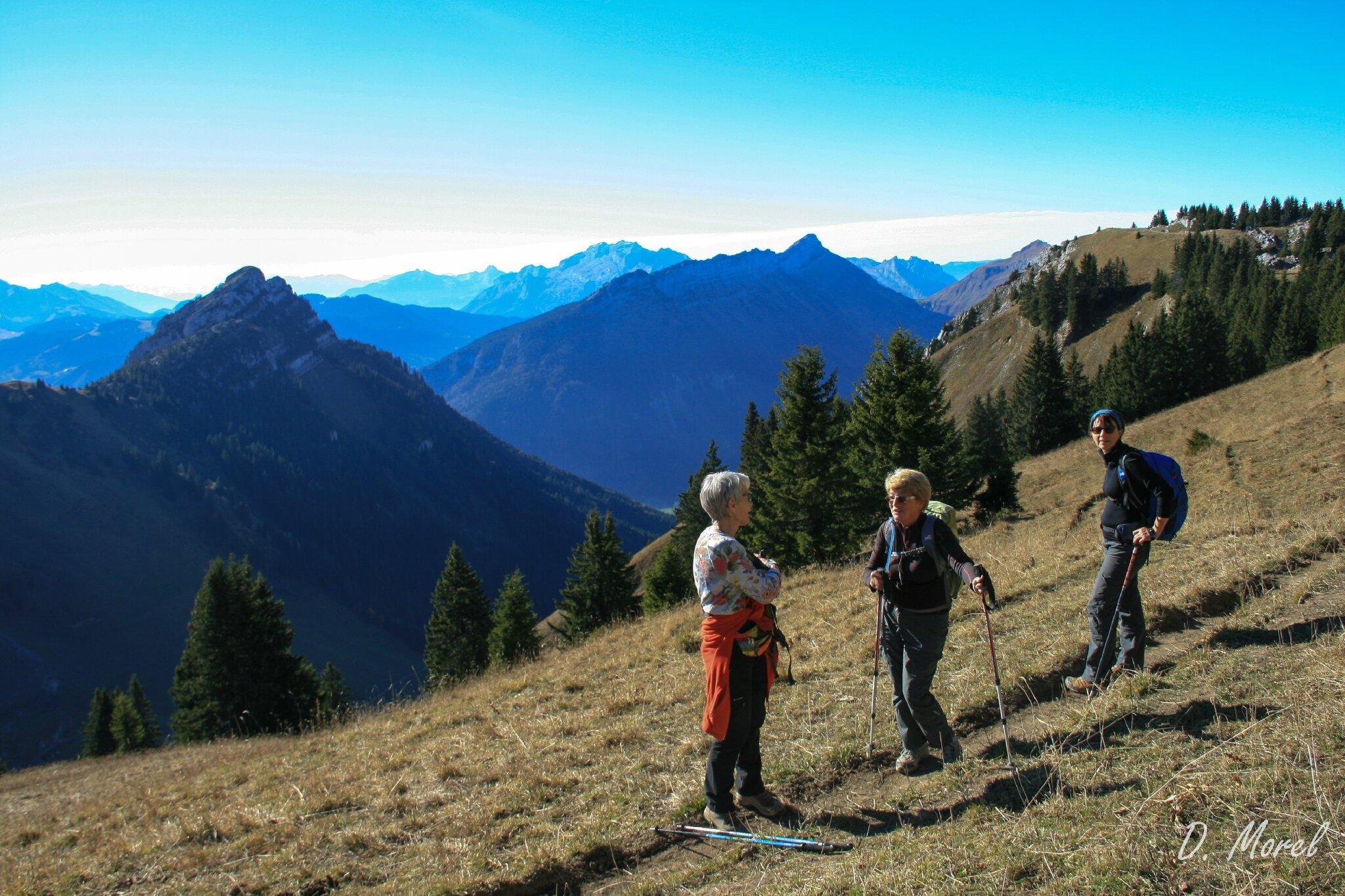 Un lundi au soleil et en montagne...
