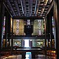 Sous la nef de Saint-Joseph du Havre.