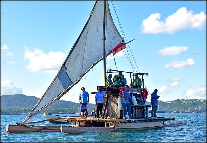 The_incoming_President_of_COP23_Prime_Minister_Frank_Bainimarama_aboard_a_drua_in_Suva_Harbour_with_the_leaders_of_two_of_the_most_climate_vulnerable_Pacific_nations_Kiribati_and_001
