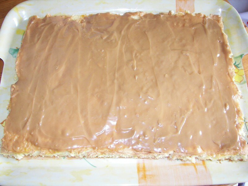 Gâteau au mascarpone pour l'anniv de mon zhom