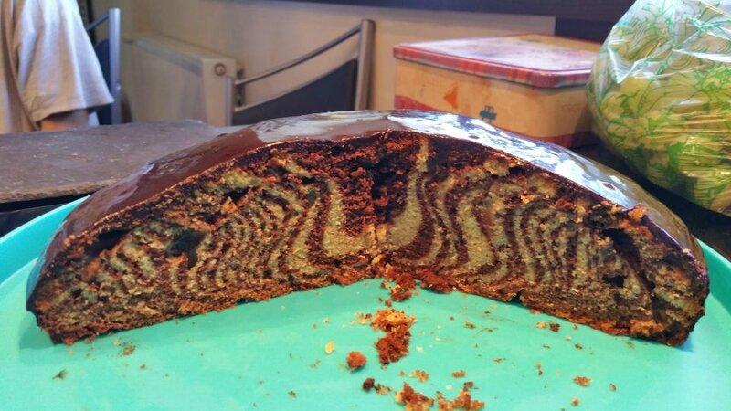 gâteau zébré 2