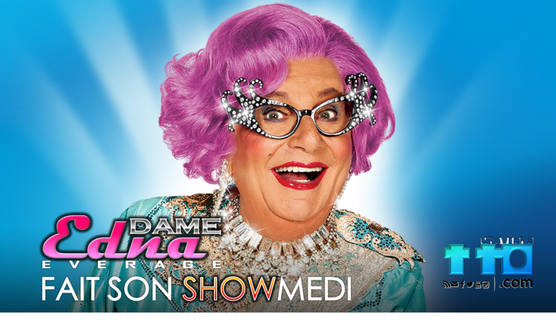 Dame Edna Everage fait son SHOWmedi