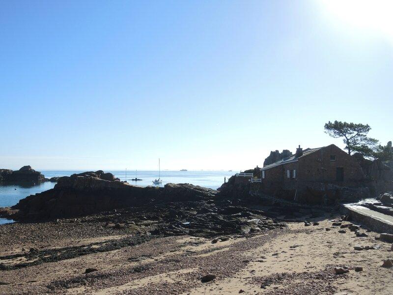 Île de Bréhat, plage de Guerzido, maison (22)