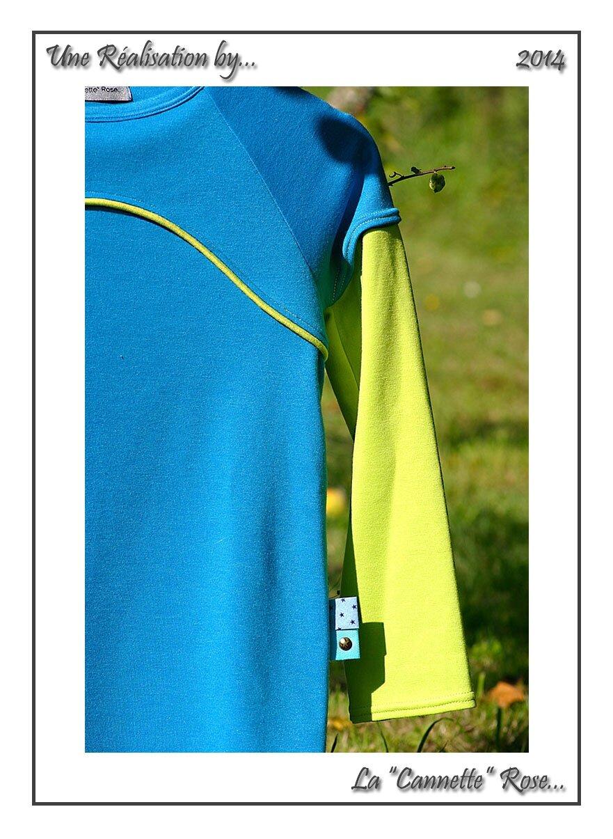 T-Shirt Maison Bleu 05