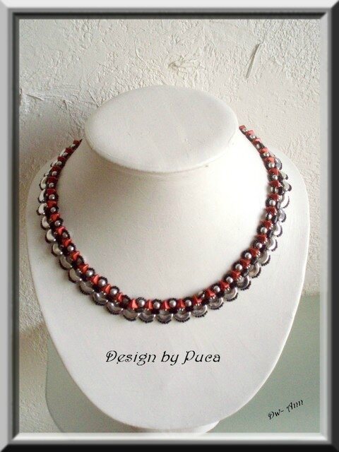 collier céline rouge 1