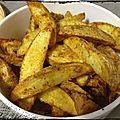 { recette } potatoes épicées au four