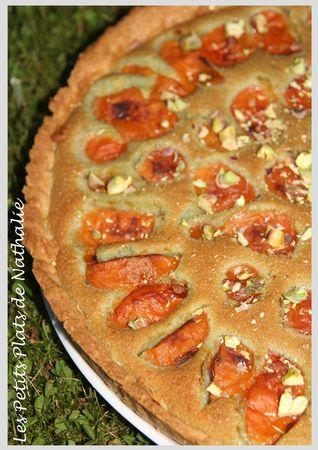 tarte abricot pistache1