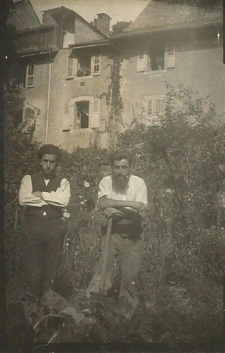 Serge et Aldo 1933 Taninges
