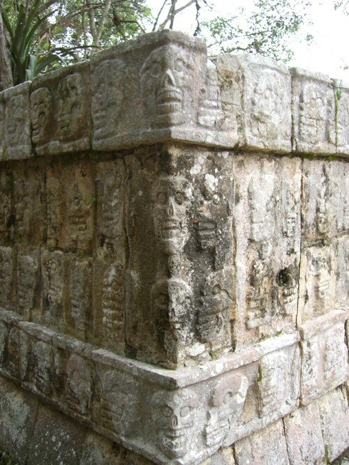 Chichen Itza - Platform of the Skulls