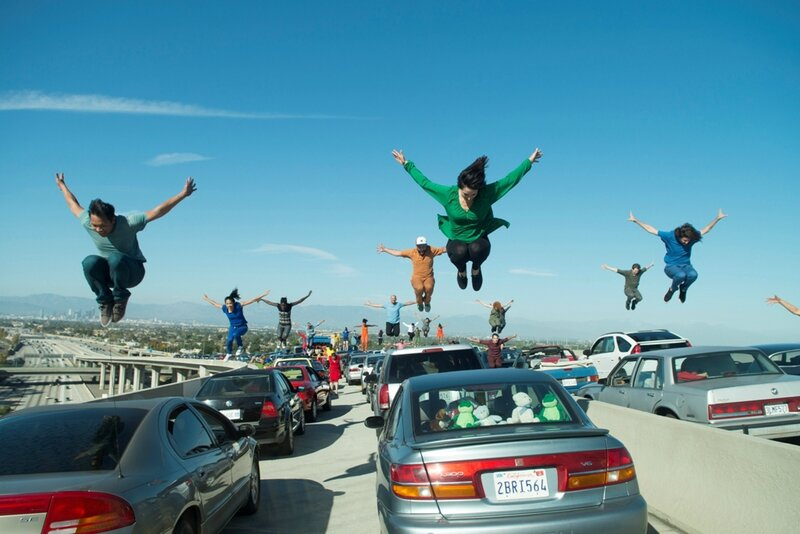 La-La-Land-film-movie-cars-Lionsgate-2016-scene-Los-Angeles-Freeway-Dance